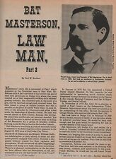 Bat Masterson, Lawman, Part 2+BASSET,BONFILS,BREIHAN,BROWN,CHASE,CLARK