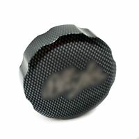 Carbon Fluid Reservoir Cap Cover For 98-14 Kawasaki Ninja ZX6R ZX7R ZX9R ZX10R