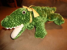 "Alligator Crocodile Gator 17"" Mary Meyer silky soft floppy stuffed plush bean"