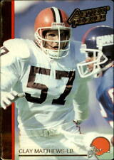 1992 Action Packed Football Card #48 Clay Matthews