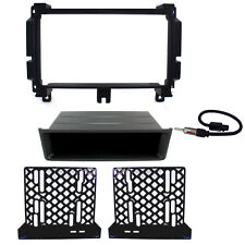 Aftermarket Radio Replacement Dash Mount Kit Double-DIN & Antenna for Jeep