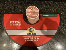 Somersby Cider Straberry & Rhubarb Bar Runner & Approx 100x Cardboard Coasters