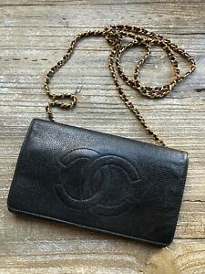Chanel vintage wallet on chain purse