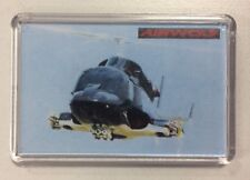 Airwolf Attack Helicopter TV Series ~ Fridge Magnet / Mini Stand