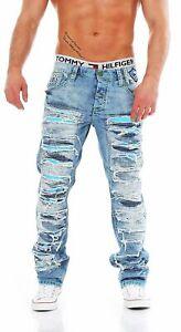 Cipo & Baxx CD-610 Regular Fit Used Look Herren Jeans