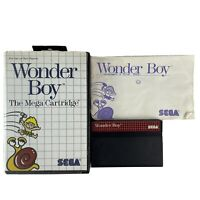 SEGA Master System Game Wonder Boy In Case With Manual OZI SOFT