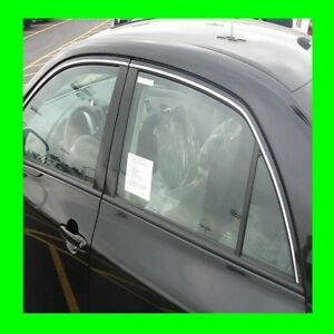 CHRYSLER CHROME WINDOW TRIM MOLDING 2PC W/5YR WRNTY+FREE INTERIOR PC
