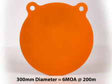 """300mm (12"""") AR500 12mm (1/2"""") Thick Steel Gong Rifle Target"""