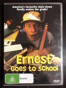 Ernest Goes To School DVD, 2006 REGION 4