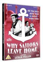 WHY SAILORS LEAVE HOME. Leslie Fuller. New sealed DVD.