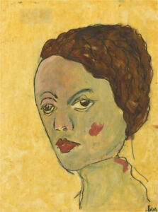 Ben Carrivick - Contemporary Oil, Brown Hair and Rosy Cheeks