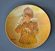 Viletta Carefree Collection Thornton Utz  China Autumn Wanderer #1st Issue Plate
