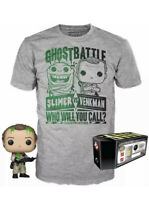 FUNKO GHOSTBUSTERS POP TEE LIMITED EXCLUSIVE COLECTORS BOX FUNKO PLUS T SHIRT