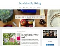 [NEW DESIGN] * Eco-Friendly Living Website * affiliate product blog AUTO POSTS