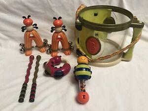 Parum Pum Pum B. toys Toy Drum Set  Instruments With Toys Pre-owned