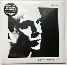 BRIAN ENO - BEFORE AND AFTER SCIENCE RECORD VINYL LP SEALED