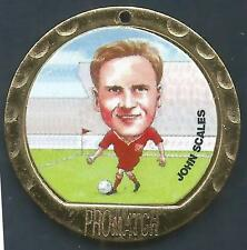 PROMATCH MEDALLIONS 1997-PREMIER LEAGUE COIN/MEDAL-LIVERPOOL-JOHN SCALES