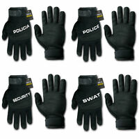 RapDom Gloves Digital Leather Police Policia Security SWAT Driving Tactical