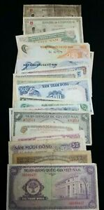 Asian Currency Lot (88) Notes