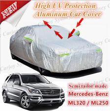 Premium Semi Tailor Made Waterproof Aluminum Car Cover Mercedes Benz ML320 ML250