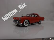 the franklin mint 1:24 1955 ford thunderbird rouge classique américain voiture
