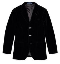 Ralph Lauren Black Velvet Sport Coat Size US 20 14-16 Years RRP £399 NEW