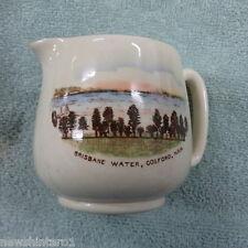 #SS. OLD BRISBANE WATER, GOSFORD NSW,  SOUVENIR CHINA JUG, CROWN DEVON