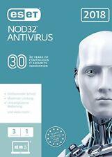 ESET Nod32 Antivirus 2018 3u FFP