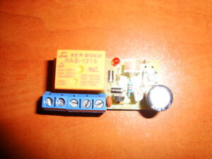 DELAY OFF CAR TIMER SWITCH TIME RELAY UNIVERSAL KIT 1- 160 300 600 750s 10A 12V
