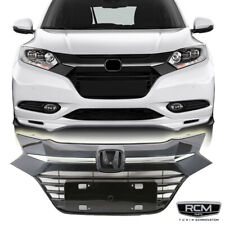 Fits  Honda HR-V HRV 2016 2018 Front Upper Grill Factory Style Grille