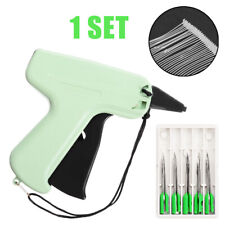 Clothes Garment Brand Price Label Tagging Tag Gun 1000 Barbs  5 Needles US STOCK
