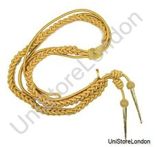 Uniform Store London Aiguillette all Gold Wire cord High quality Full size R101