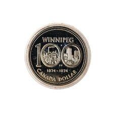 1974 Canada Silver Dollar Winnipeg Centennial Proof Like