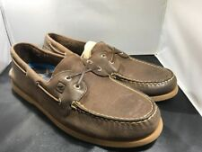 Sperry Top-Sider mens brown a/o eye boat shoes size 12 # 11512 ( 621)