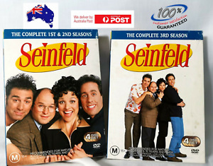 Seinfeld : Vol 1 & 2 - The Complete 1st 2nd & 3rd Season DVD Region 4