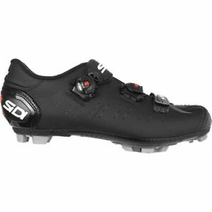 Sidi Dragon 5 SRS Matt Carbon Mtb Bike Shoes EU 44 US Men 10 Black Ltd Edition