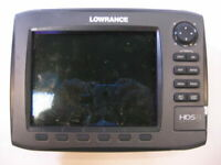 Lowrance HDS8 Gen2 Fishfinder Chartplotter (Parts Or Repair) Bad LCD
