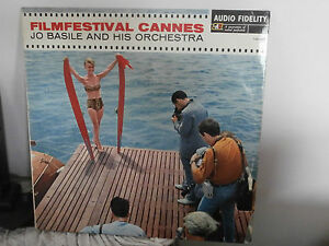 Jo Basile And His Orchestra – Filmfestival Cannes Netherlands LP Record Disco
