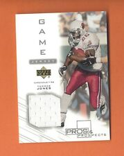 2001 PROS AND PROSPECTS THOMAS JONES GAME-USED JERSEY #TJ-J ARIZONA CARDINALS