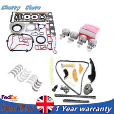 Engine Rebuild Overhaul Kit Pistons&Ring Fit For VW Golf AUDI A3 A4 TT 1.8T CDAA