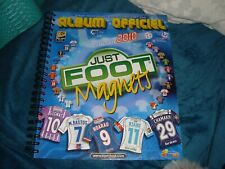 magnets just foot maillot album classeur vide 2010