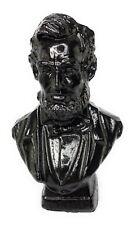 President Abraham Abe Lincoln Bust Hand-Crafted Kentucky Coal Figurine Folk Art