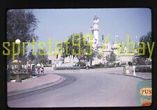 1958 Disneyland Sleeping Beauty Castle - Vintage Red Border 35mm Slide