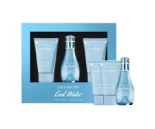 Davidoff Cool Water For Woman - 30ml EDT Gift Set With 50ml Body Lotion and Show