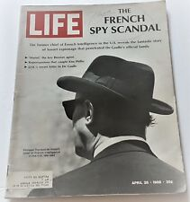 April 26, 1968 LIFE Magazine JAMES Earl Ray 60s Advertising ads FREE SHIPPING 4