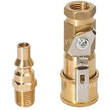 Grill Connectors & Hoses 1/4 Inch RV Propane Quick Fittings, Natural/LP Gas Kit
