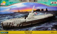 COBI USS Wahoo / SS-238 (4806) - 700 elem. - WWII US Gato Class submarine