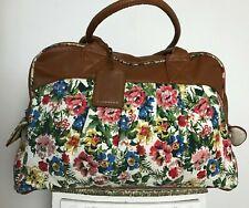 Atmosphere Large floral handbag carry/shoulder lightweight sleepover/weekend bag
