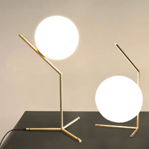 Flos IC Gold Table Desk Floor Lamp E27 Light Home Lighting Decor Replica