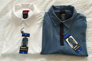 Mens Gerry Sizes M L XL 2XL Short Sleeve Soft Touch Quick Dry Polo Shirt Bnwt